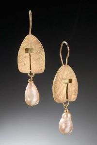 Golden Hut Earrings - Marjorie Simon
