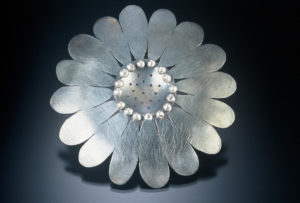 9/11 Brooch with Pearls - Marjorie Simon