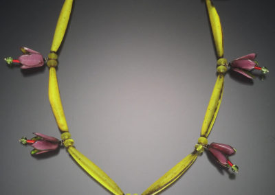Egyptian Flowers Necklace
