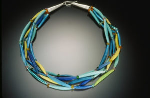 Five Strand Choker, Shades of Blue