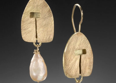 Golden Hut Earrings