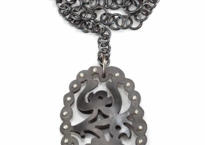 Victorian Steel Necklace