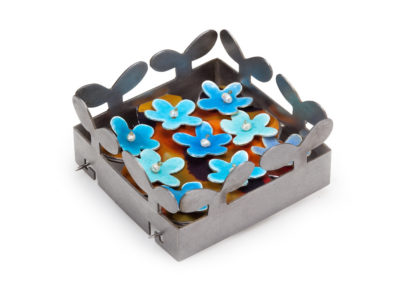 Box of Blossoms Brooch
