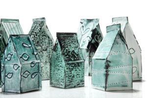 Paper Bag Houses - Marjorie Simon