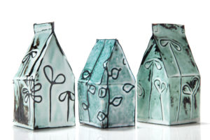 Paper Bag Houses Trio - Marjorie Simon