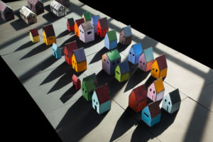 Houses and Barracks Installation - Marjorie Simon